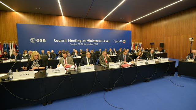 ESA-Ministerkonferenz 2019