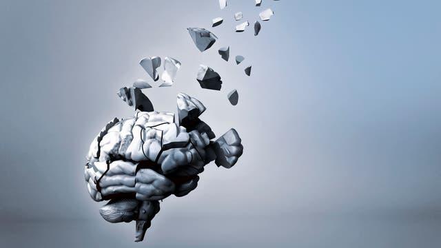 Splitterndes Gehirn