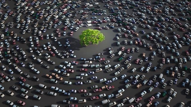 Verkehrsstau aus dem Nichts