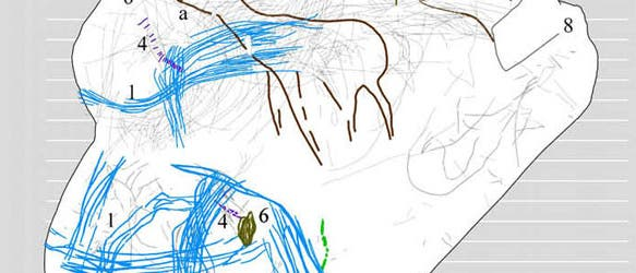 Steinzeitkarte zeigt ehemalige Jagdrouten