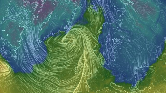 Sturm über Island