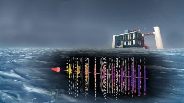 IceCube verortet Neutrinoquelle