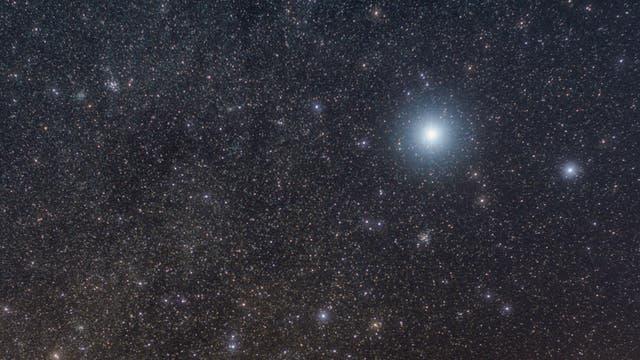 Offene Sternhaufen am Winterhimmel