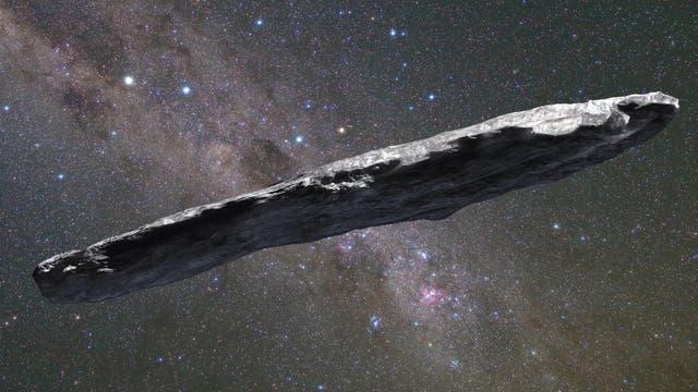 interstellares Objekt, Oumuamua