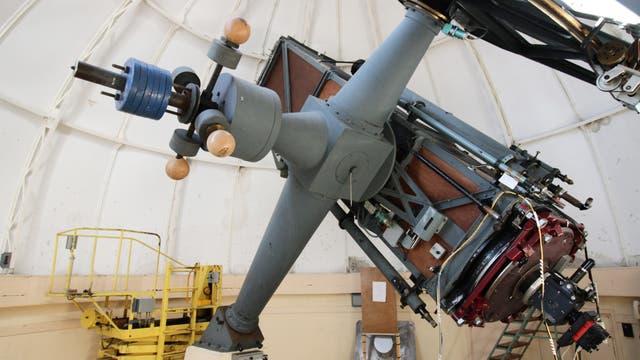 Das 0,8-Meter-Teleskop des Observatoire de Haute-Provence