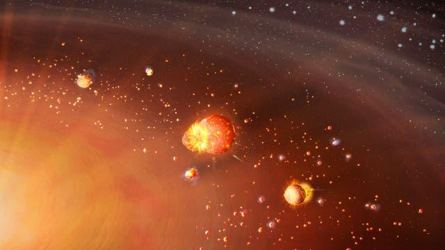 Zwei Planetenpopulationen