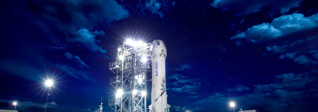 Blue Origin, New Shepard, Rakete