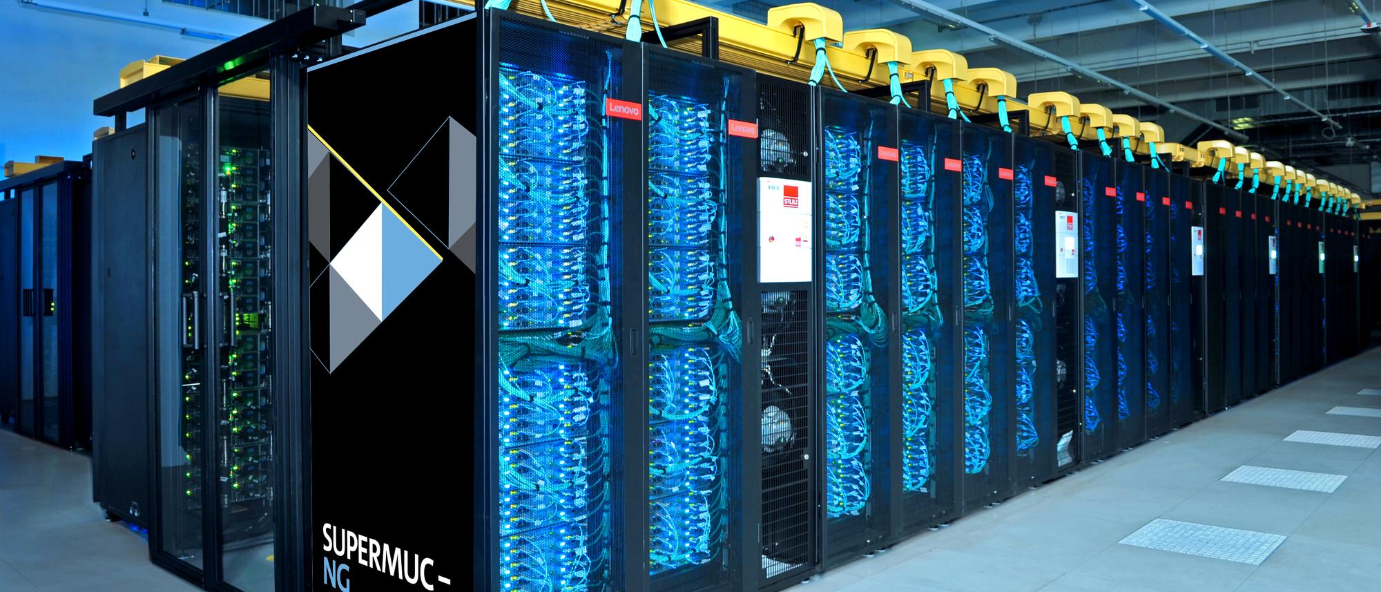 Supercomputer am Leibniz-Rechenzentrum (LRZ)