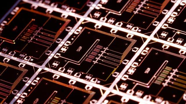 Quantencomputer-Chip