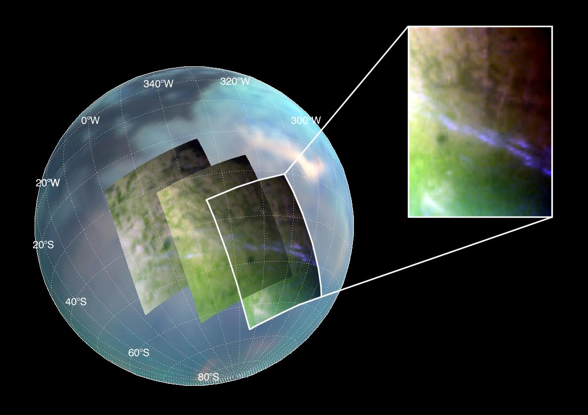 © NASA / JPL / University of Arizona / University of Nantes
