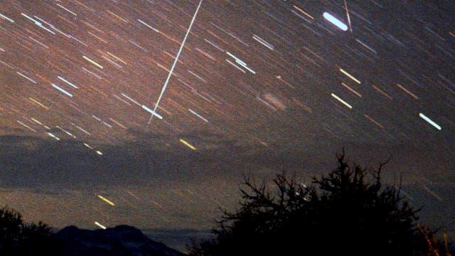 Sternschnuppen der Geminiden