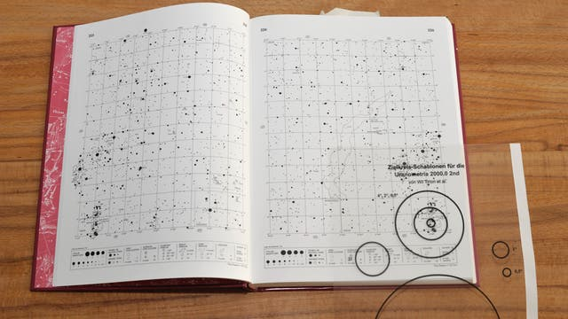 Der großmaßstäbige Sternatlas Uranometria z