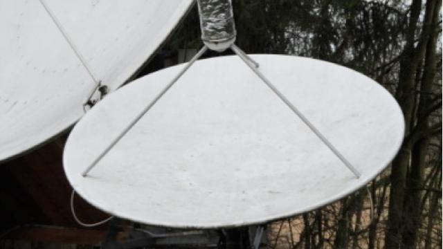 Satellitenantenne Radiostrahlung