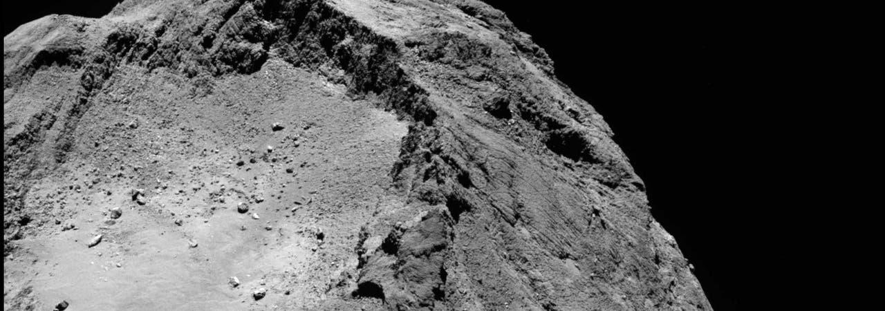 Der Kern des Kometen 67P/Tschurjumow-Gerasimenko