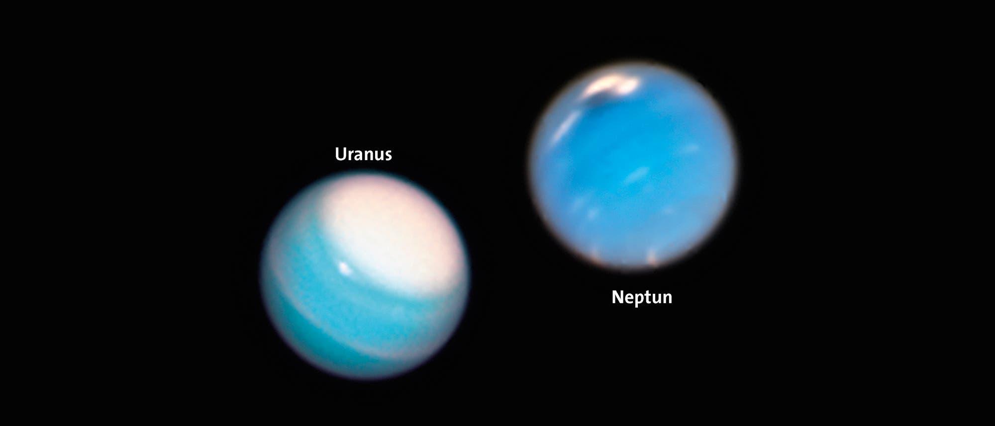 Uranus & Neptun