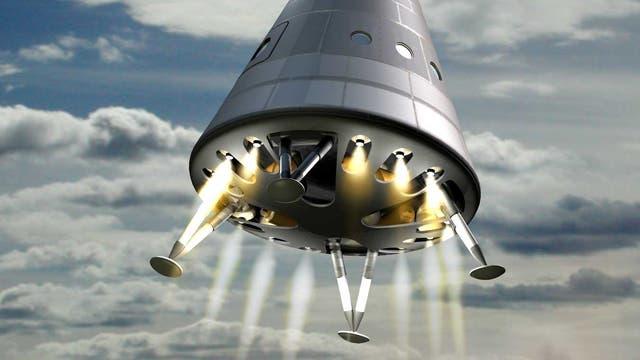 Das neue russische Raumfahrzeug PPTS