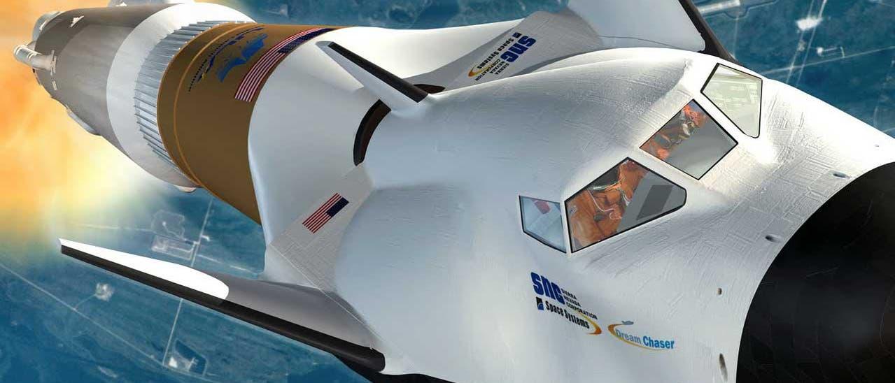 """Raumtransporter """"Dream Chaser"""""""