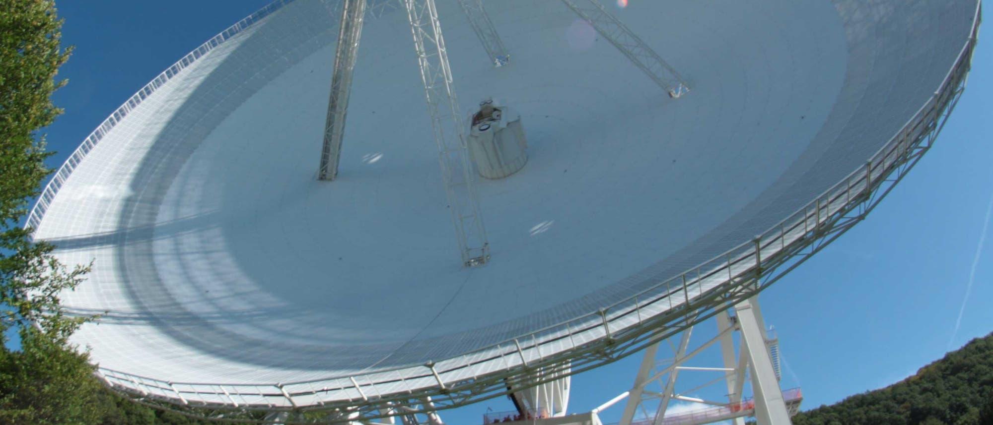 100-Meter-Radioteleskop bei Effelsberg
