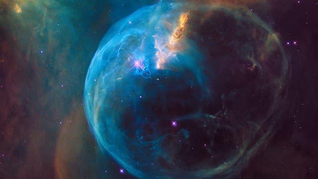 Blasennebel NGC 7635 im Sternbild Kassiopeia