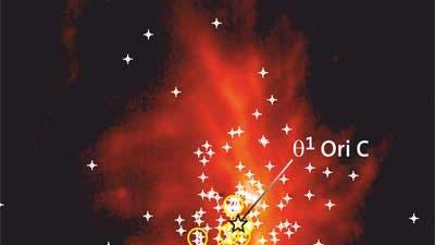 Protoplanetare Scheiben im Orionnebel