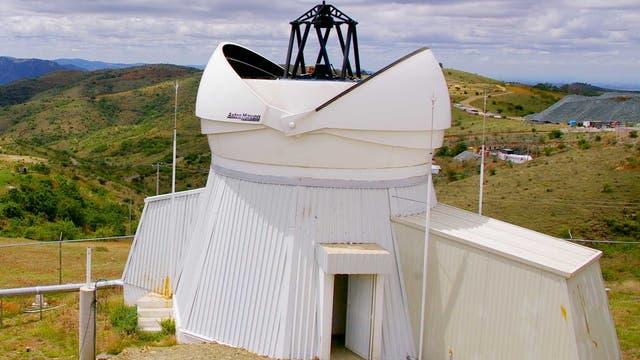 Das Hamburger robotische 1,2-Meter-Teleskop »el TIGRE« in Guanajuato, Mexiko