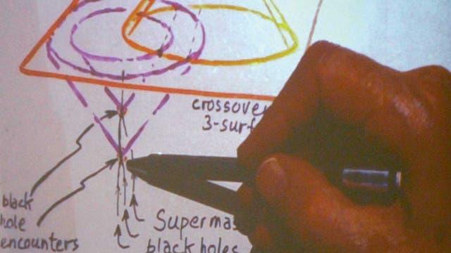 """Skizze von Roger Penrose zur """"Konformen zyklischen Kosmologie"""""""