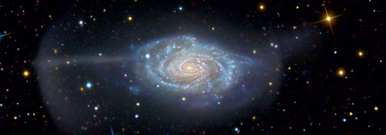 Die Spiralgalaxie NGC 4651