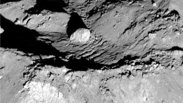 Zentralberg des Mondkraters Tycho