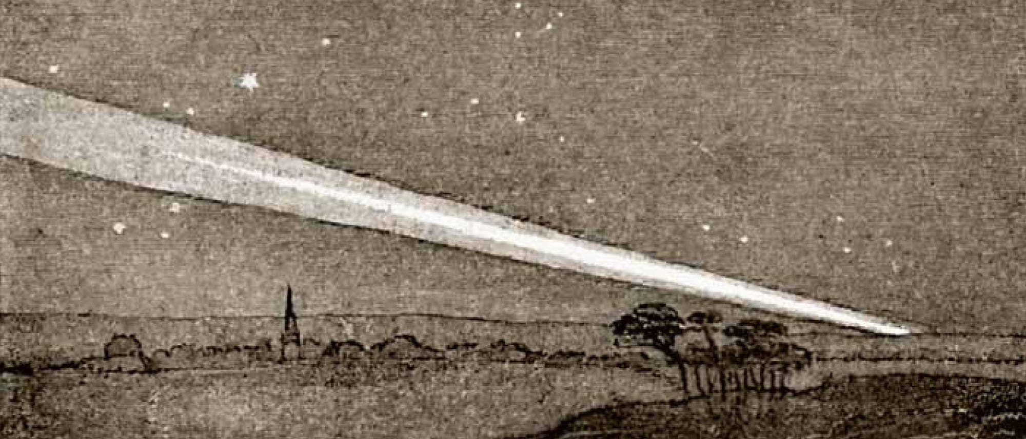 Der »Tageslichtkomet« C/1843 D1