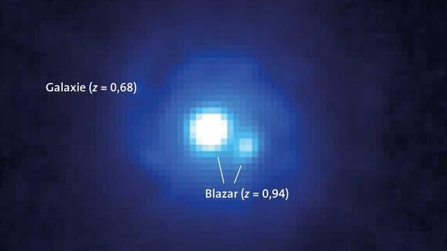 Der Blazar B0218+357