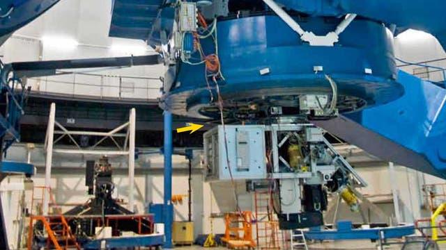 3,5-Meter-Zeiss-Teleskop auf dem Calar Alto