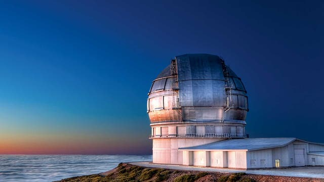 Gran Telescopio Canarias, La Palma