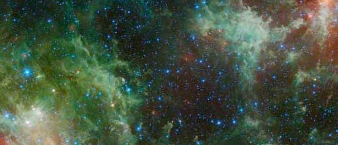 Ein neues Bild des gesamten Himmels