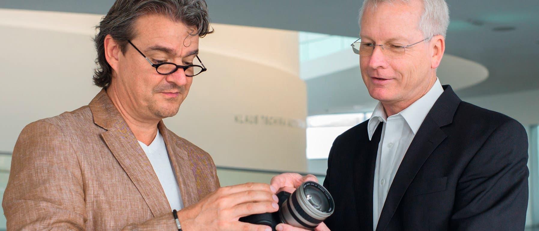 Stefan Seip und Uwe Reichert