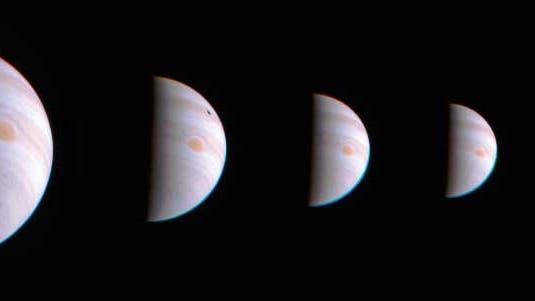 Juno bei Jupiter