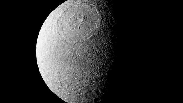 Der Saturnmond Tethys