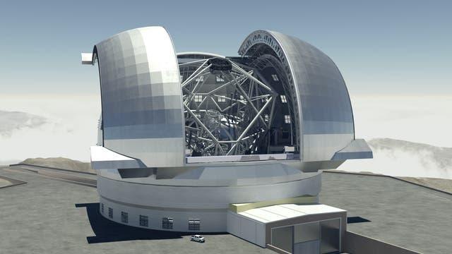 E-ELT - das European Extremely Large Telescope