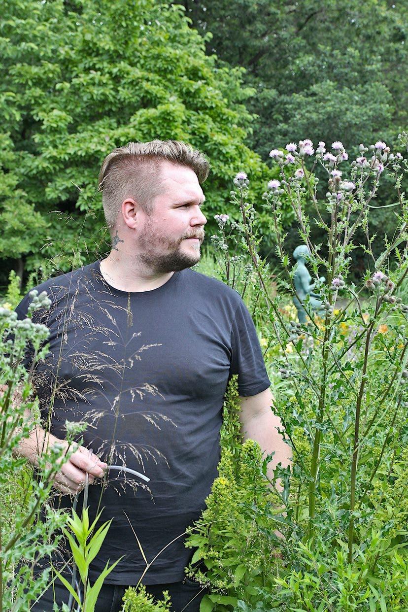 Der Koleopterologe Thomas Hörren ist Mitglied der Krefelder Insektenforscher und »Volunteer for Future« 2021.