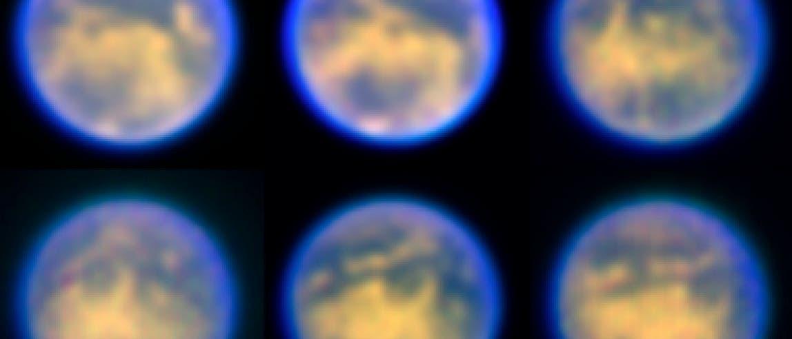 Saturnmond Titan im Blick von NACO