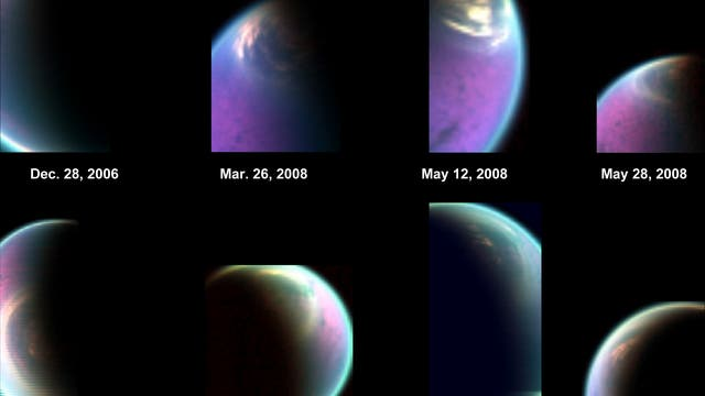 Die Nordpolarregion von Titan