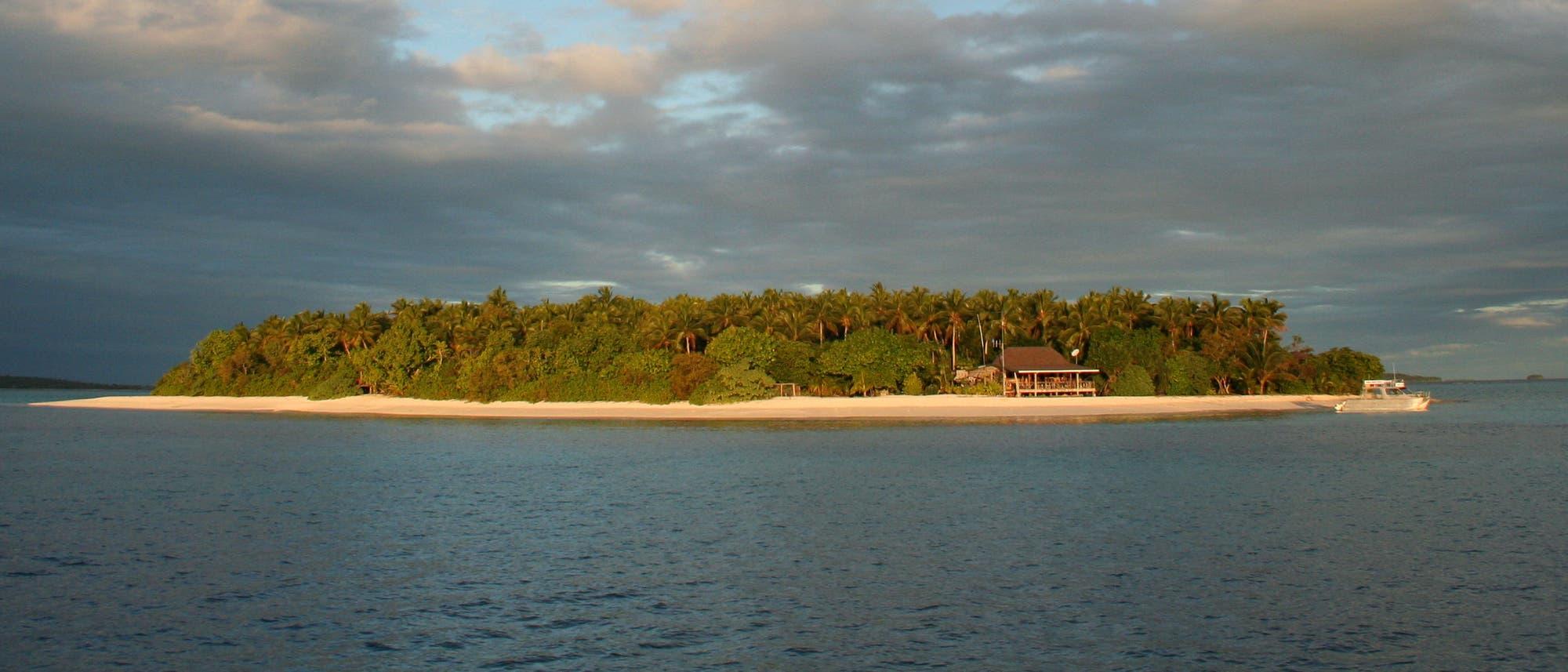 Insel im Tonga-Archipel