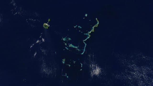 Tonga-Inseln im Pazifik