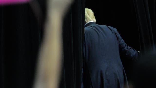 Trump hinter den Kulissen