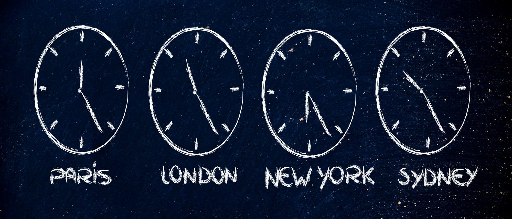 Uhrzeiten
