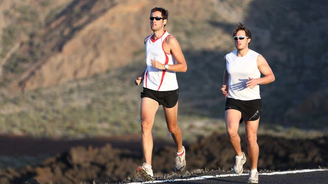 Ultramarathon durchs Gebirge