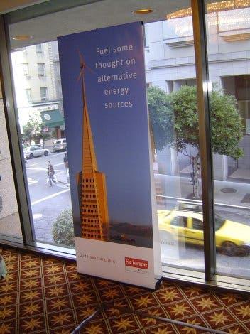 Transamerican Pyramid als Windkraftanlage