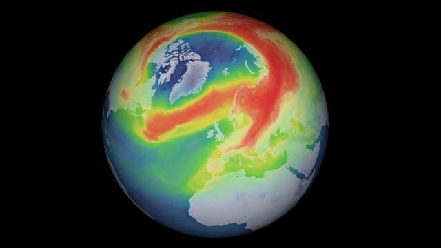 Arktisches Ozonloch 2020