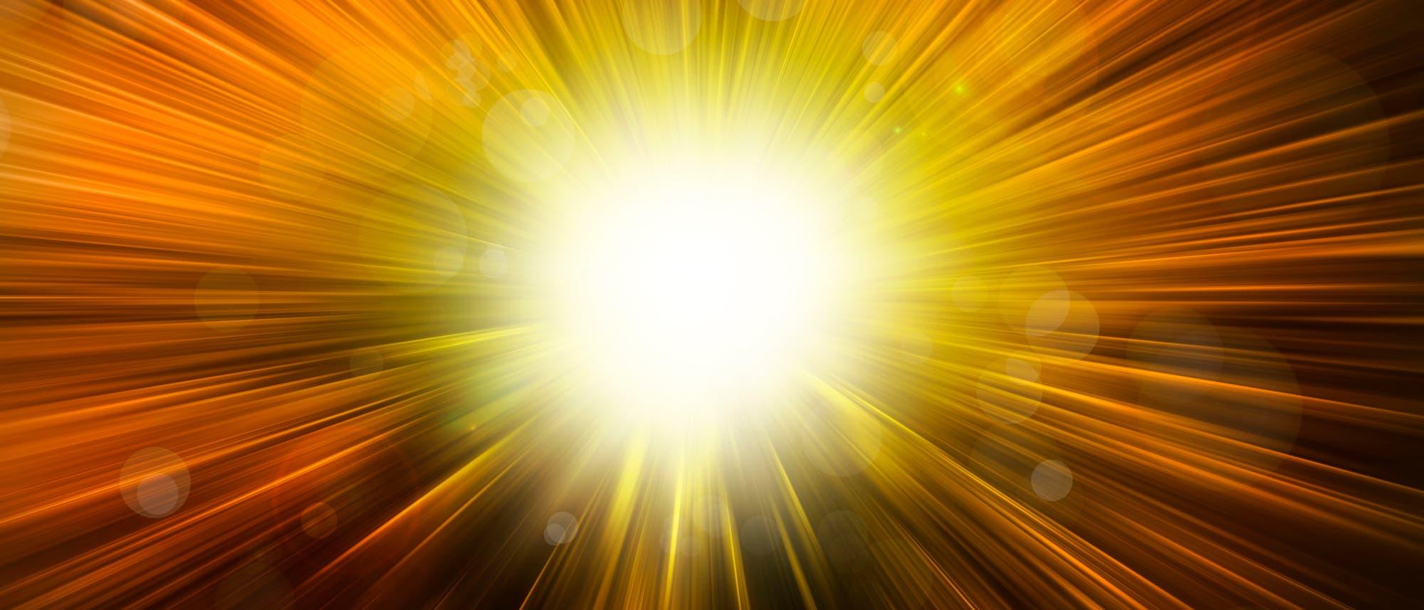 Mit dem Urknall - auch Big Bang genannt - begann die Geschichte des Weltraums