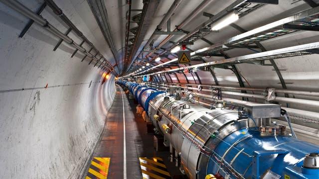 Der Tunnel des LHC