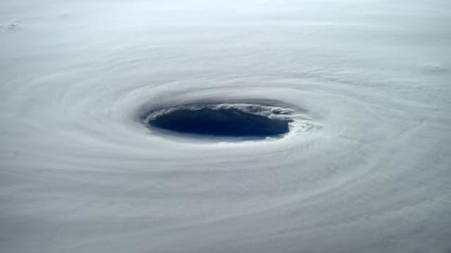 Taifun aus dem All